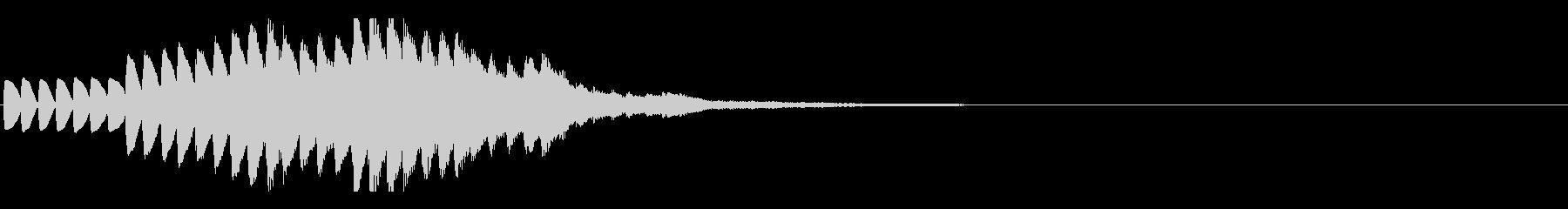 キラキラキラ(キラメキが降り注ぐ感じ)の未再生の波形