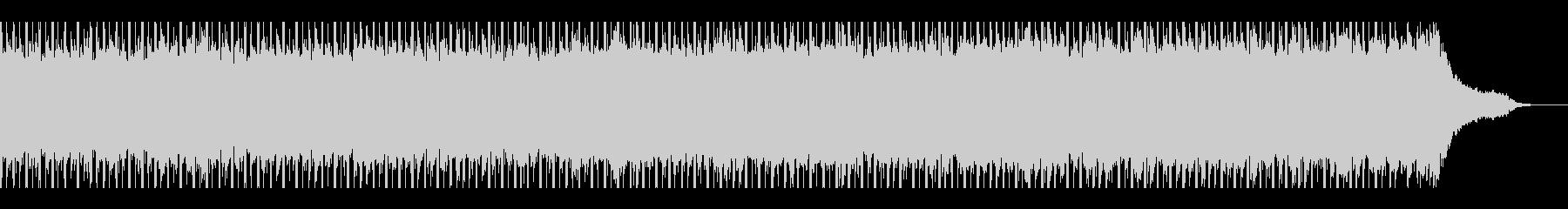 やる気(60秒)の未再生の波形