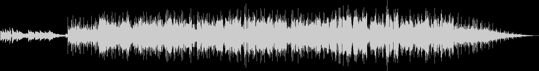 アルトサックスの軽快なフュージョンの未再生の波形