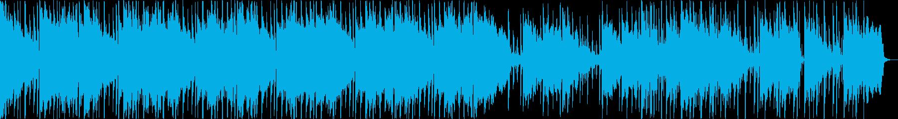 ジャズとファンク。サックス。の再生済みの波形