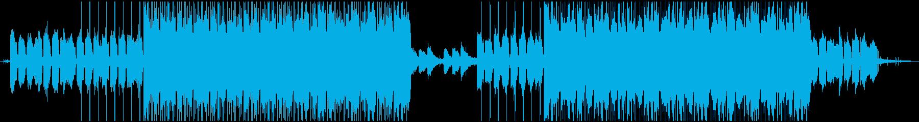 落ち着くLoFi HipHopの再生済みの波形