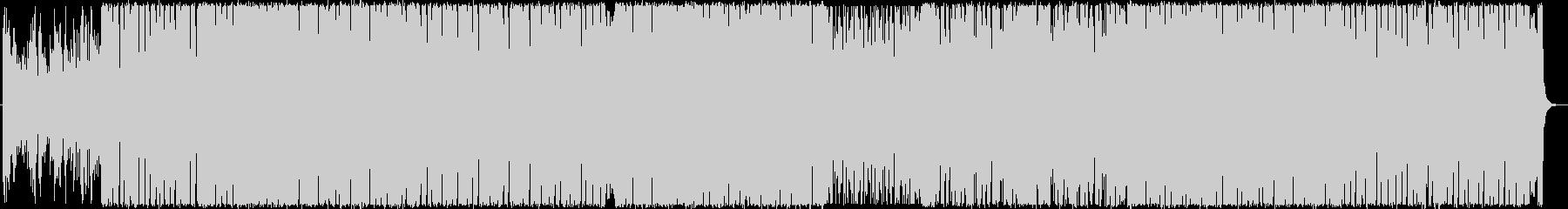ピアノとバイオリンの近代的ブレイクビーツの未再生の波形
