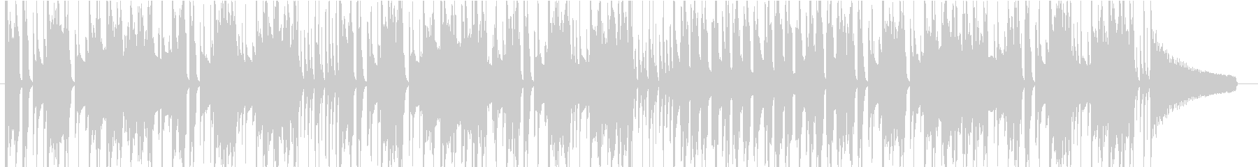 アニメ CM ほのぼの 48kHzの未再生の波形