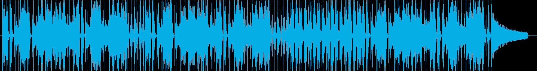 アニメ CM ほのぼの 48kHzの再生済みの波形