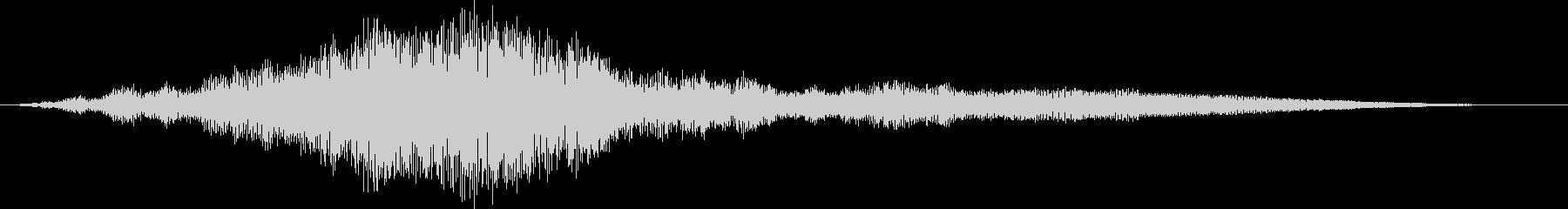 【映画】上映前にロゴと一緒に流れる音2の未再生の波形