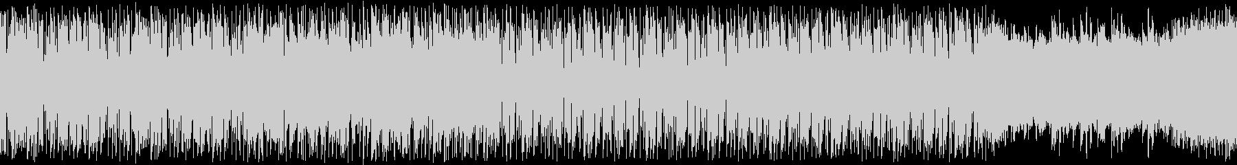 【ループ用】お洒落で怪しいゲームBGM2の未再生の波形