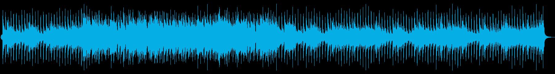 始まりを予感させる爽やかなBGMの再生済みの波形
