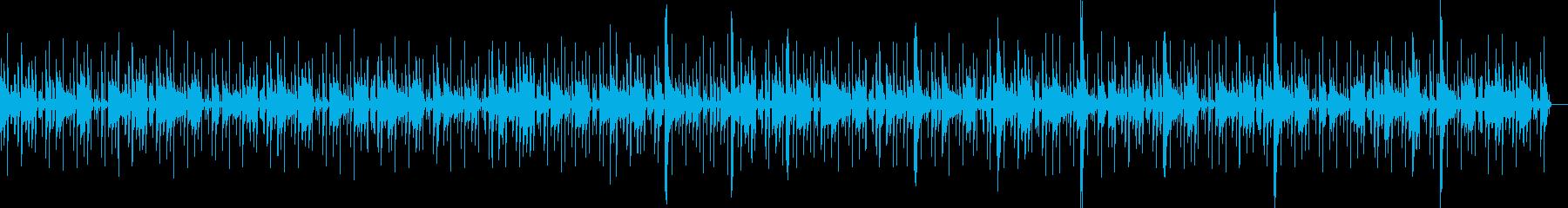 怪しさ滲むエスニックBGMの再生済みの波形