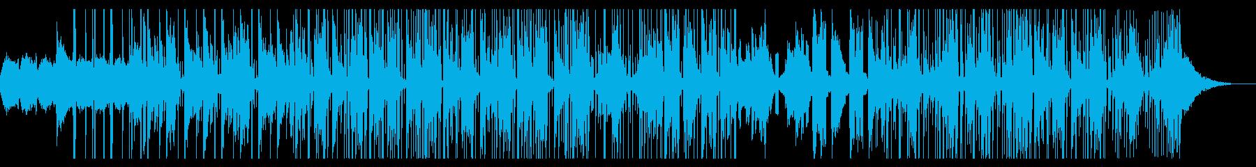 ダウナーな夢の中の様なChillhopの再生済みの波形