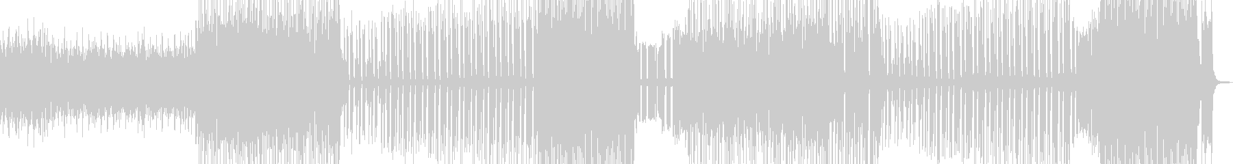 爆笑珍事件・トランペットテクノポップ Bの未再生の波形
