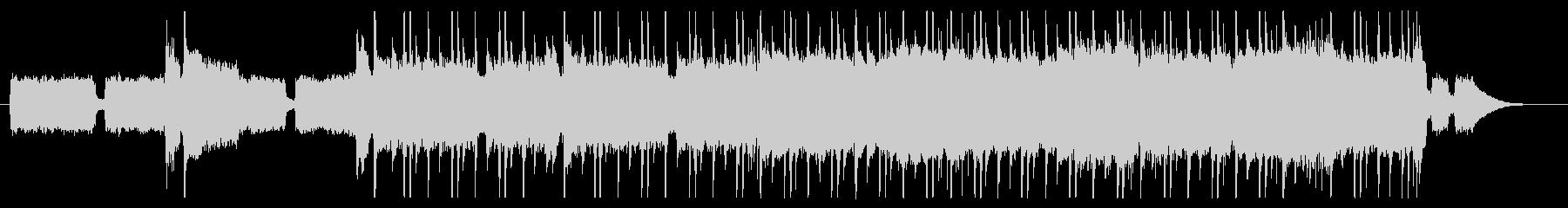 ミディアムブルースロックの未再生の波形