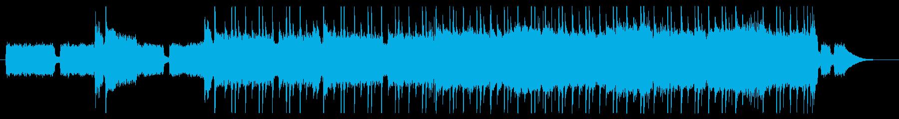 ミディアムブルースロックの再生済みの波形
