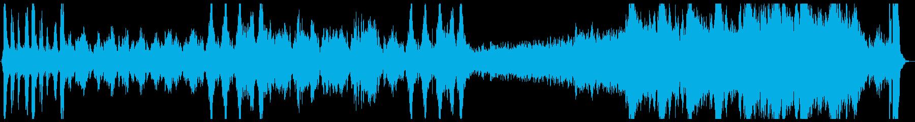 和風バトル曲の再生済みの波形