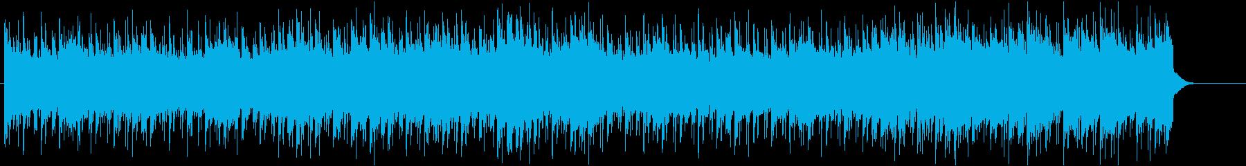 疾走感のあるもの悲しいBGMの再生済みの波形