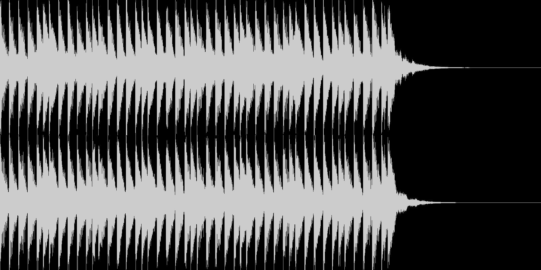 SimpleなSound Logoの未再生の波形