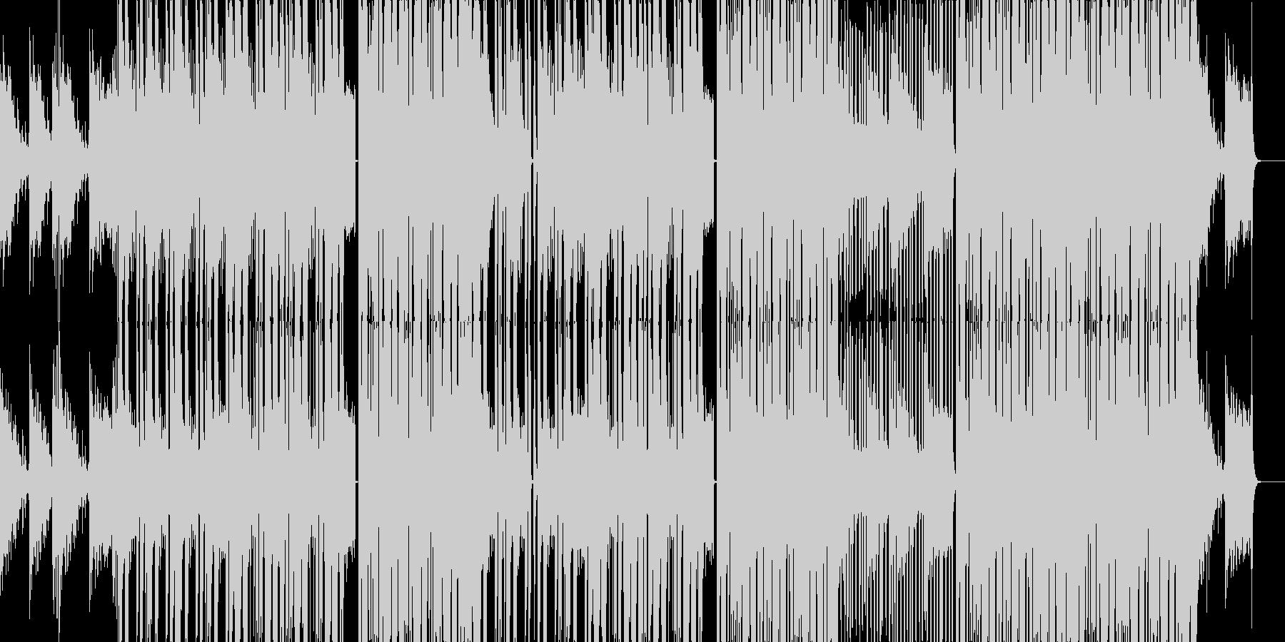 地底世界をイメージしたEDM/TRAP曲の未再生の波形