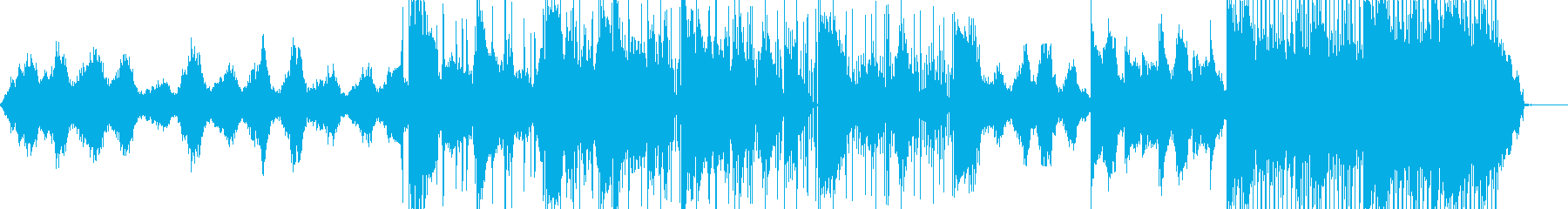 映像美に映えるELECTRONICAの再生済みの波形