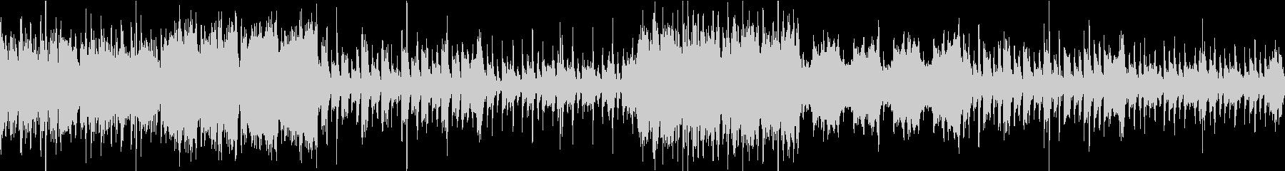 ピアノとストリングス主体のホラー系BGMの未再生の波形