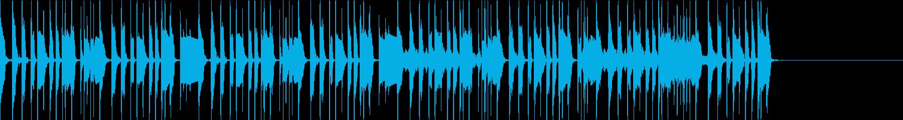 明るく軽快なファンクギター の再生済みの波形