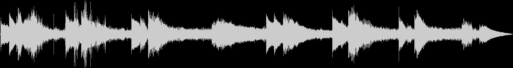 ラジオ制作シーン:マウンテントレイ...の未再生の波形
