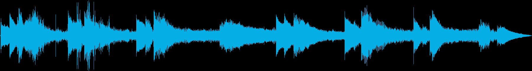 ラジオ制作シーン:マウンテントレイ...の再生済みの波形