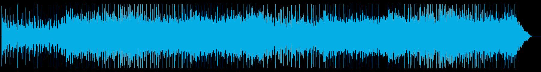ボサノバ感のあるおしゃれなギターポップの再生済みの波形
