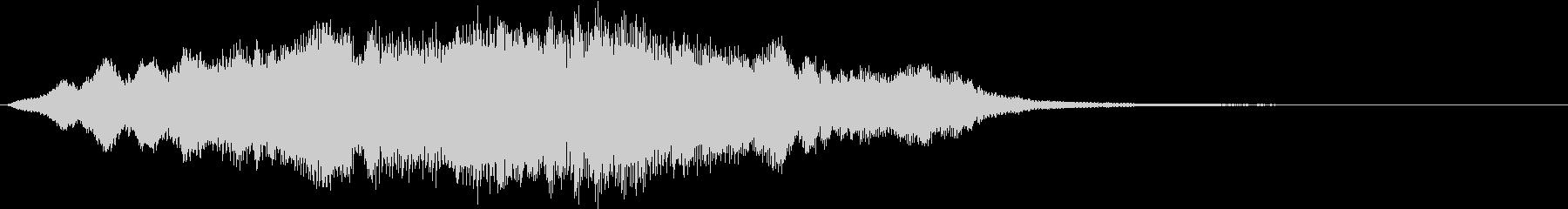 【ホラー】SFX_02 鐘が響く暗闇の未再生の波形
