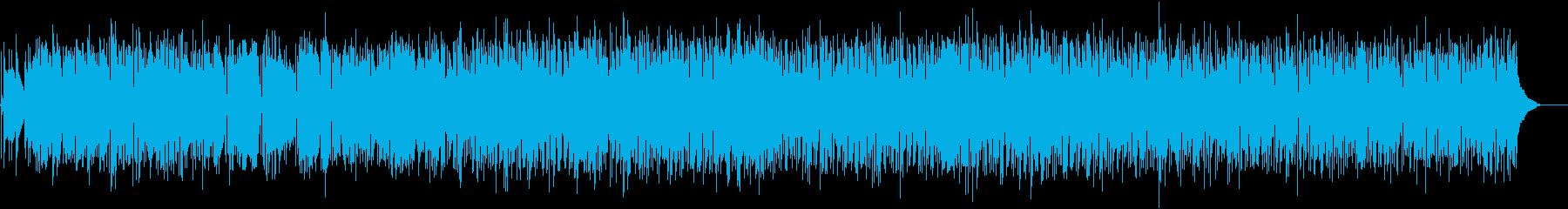 軽快で躍動的なサルサ 踊りまくろう の再生済みの波形