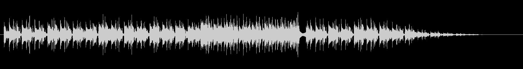 スタイリッシュなマイナー・フュージョンの未再生の波形