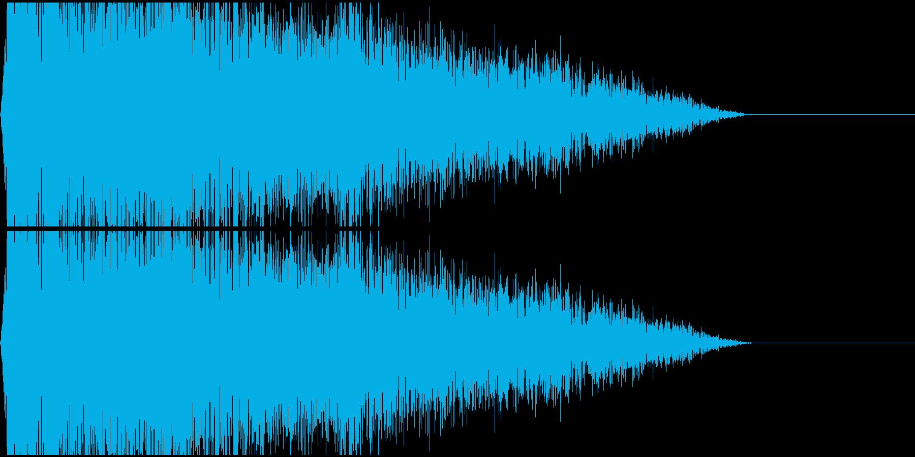 ブシュー!(ノイズ/工場インダストリアルの再生済みの波形