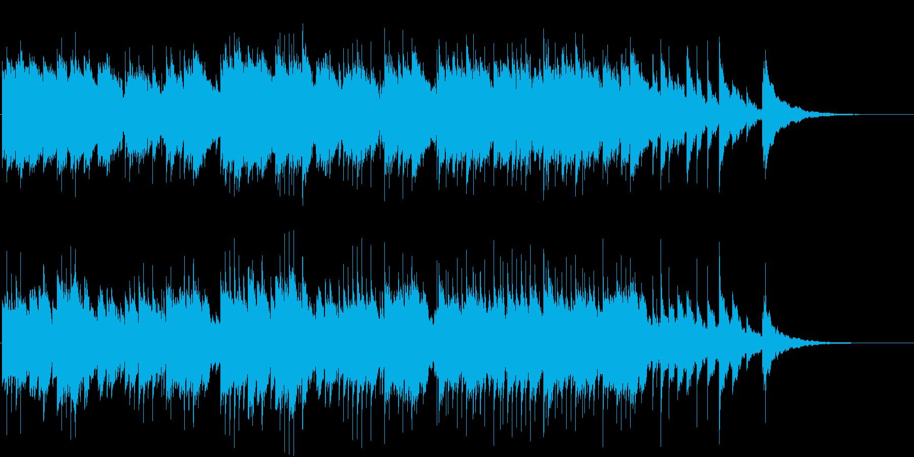 切なく温かいオルゴールの再生済みの波形