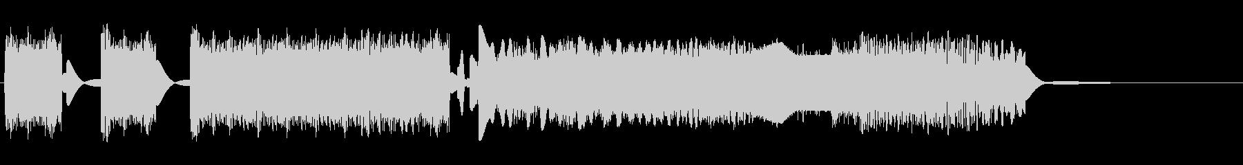 RADIO WAVE ZAPの未再生の波形