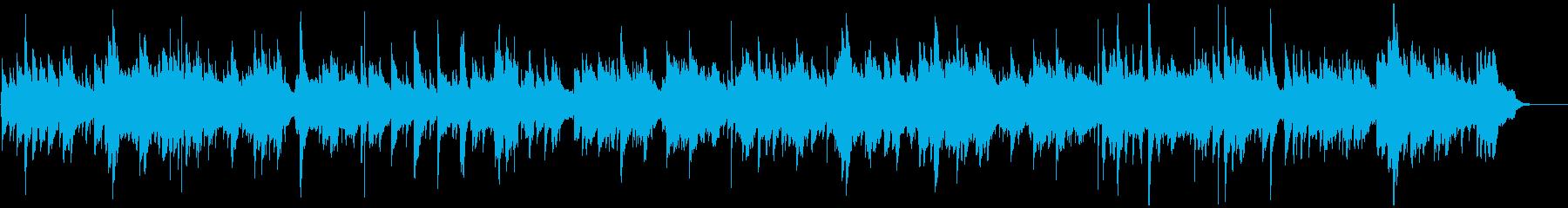 優しいアイリッシュ風ワルツの再生済みの波形