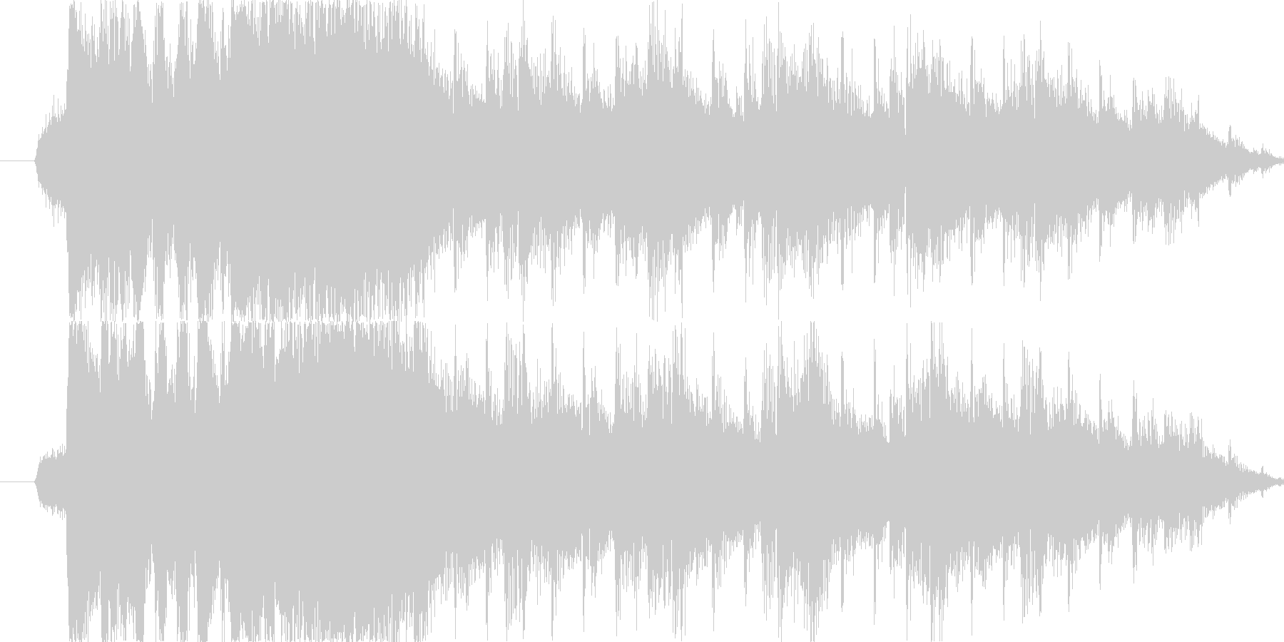 RPG/エルフファンタジー/リザルトの未再生の波形