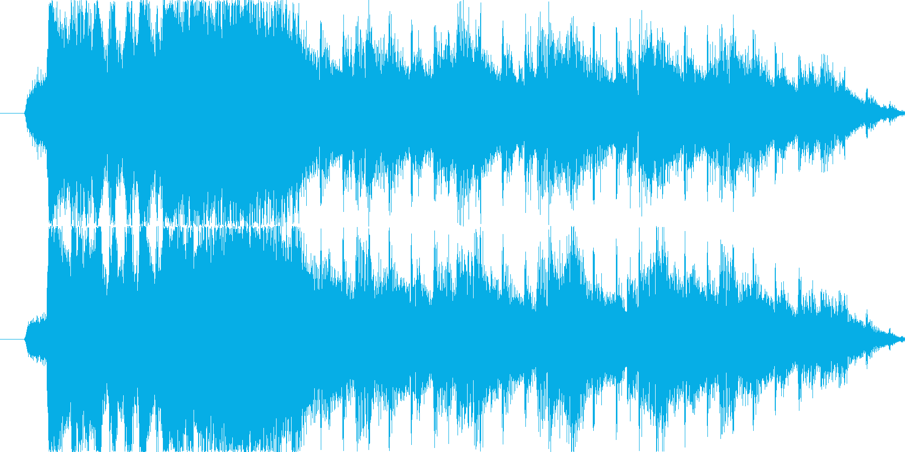RPG/エルフファンタジー/リザルトの再生済みの波形