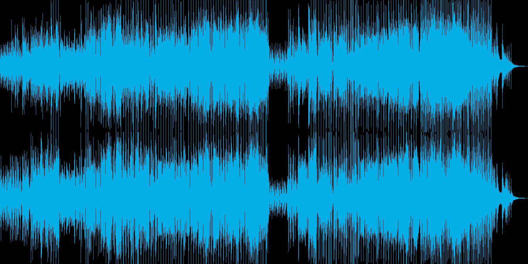 木管とギター・寛げる可憐なジャズ Bの再生済みの波形