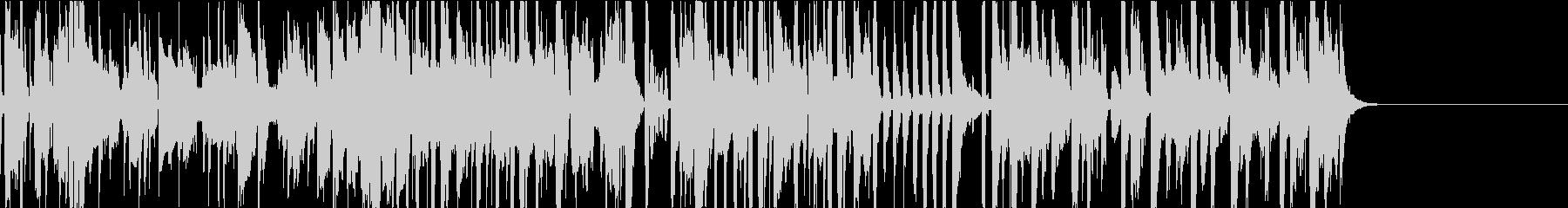 ファンク、ポップ・軽快・トランペットの未再生の波形
