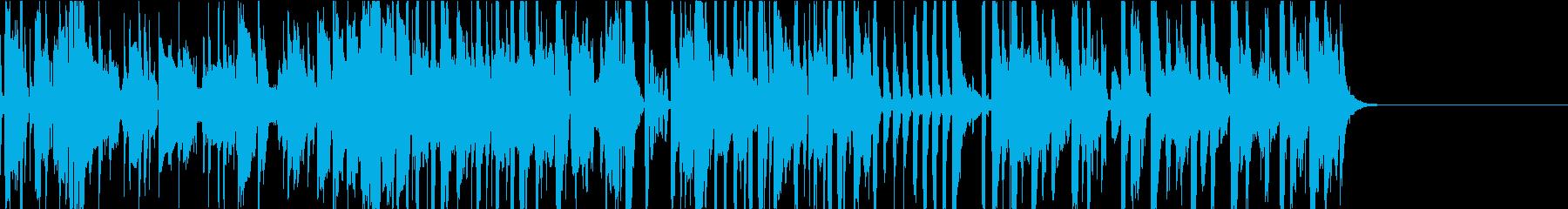 ファンク、ポップ・軽快・トランペットの再生済みの波形