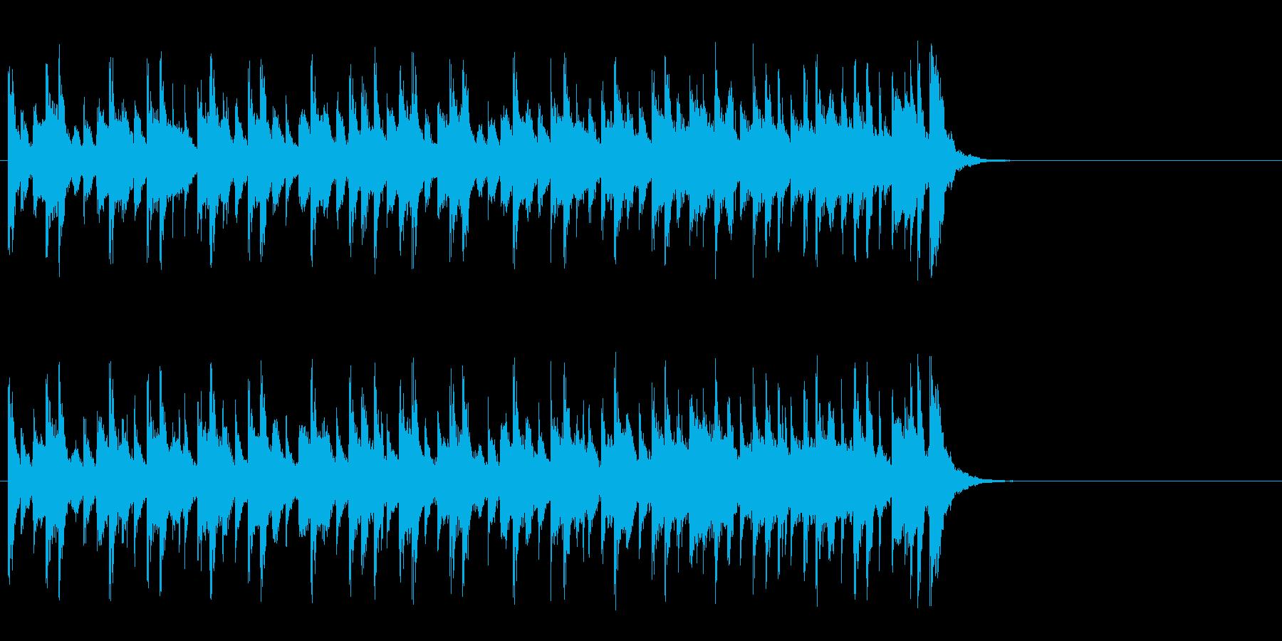心安まるミディアムポップ(Aメロ)の再生済みの波形