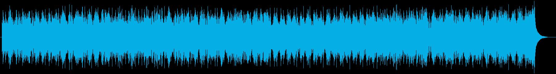 軽快で躍動感のあるストリングポップスの再生済みの波形