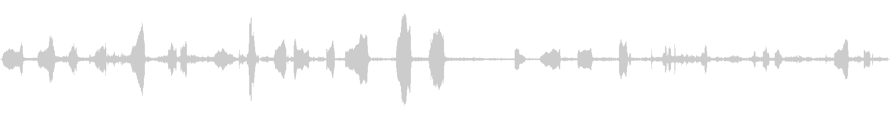PANDA CUB、MEWING、...の未再生の波形