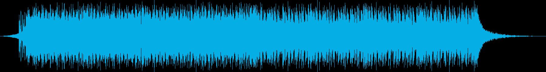 明るいポップなEDMの再生済みの波形