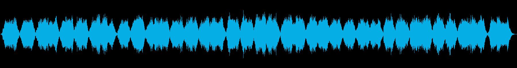 東南アジアの夕暮れを歌う民族音楽の再生済みの波形