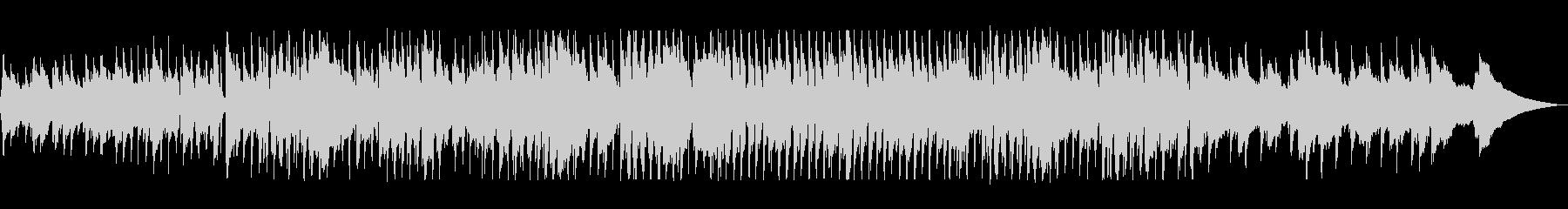 口笛とウクレレのアコースティックポップの未再生の波形