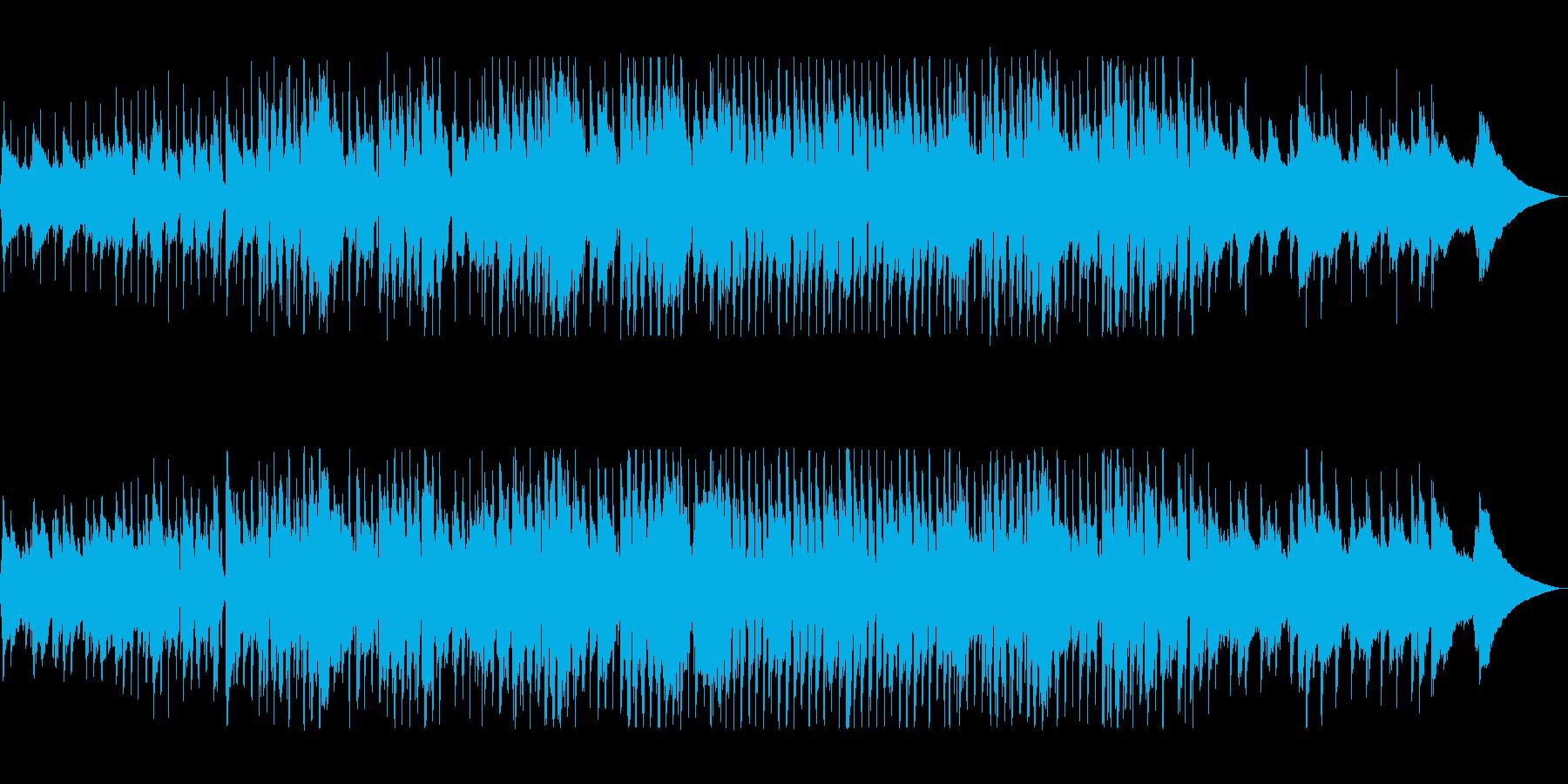 口笛とウクレレのアコースティックポップの再生済みの波形