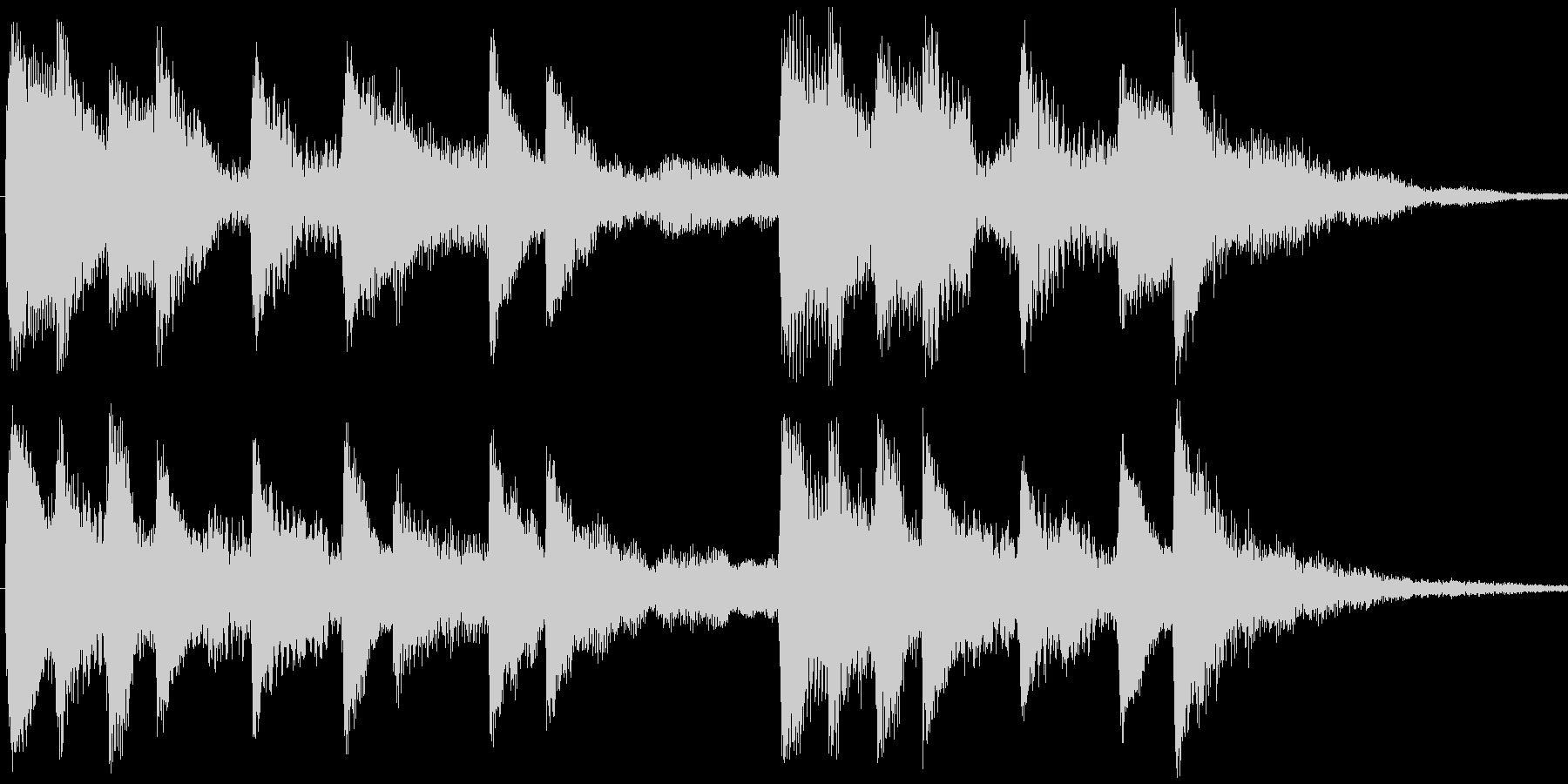 <Loop>せつない感じの ピアノ③の未再生の波形