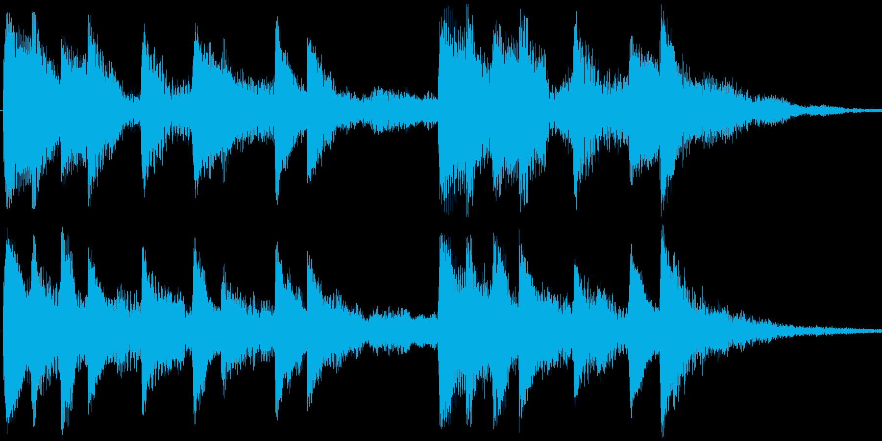 <Loop>せつない感じの ピアノ③の再生済みの波形