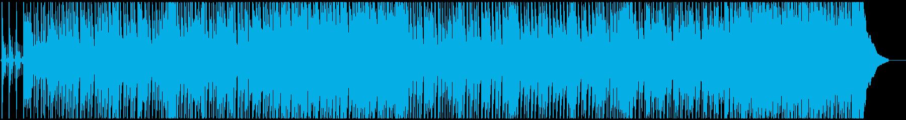 沖縄らしい三線ポップス(指笛なし)の再生済みの波形