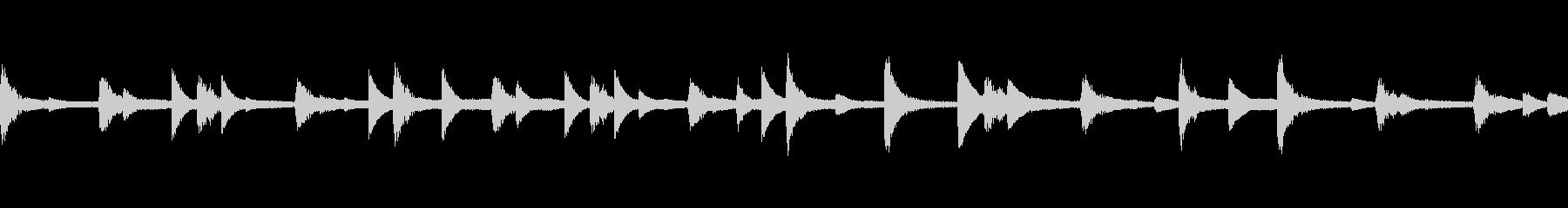 ほのぼのしたCM等に ピアノ調ループ可能の未再生の波形