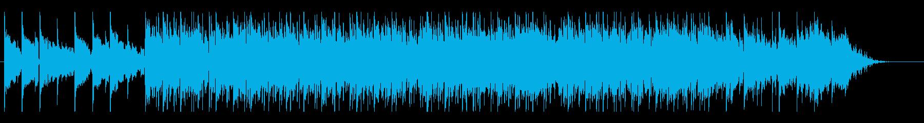 心地いいリズムのLo-Fi HipHopの再生済みの波形